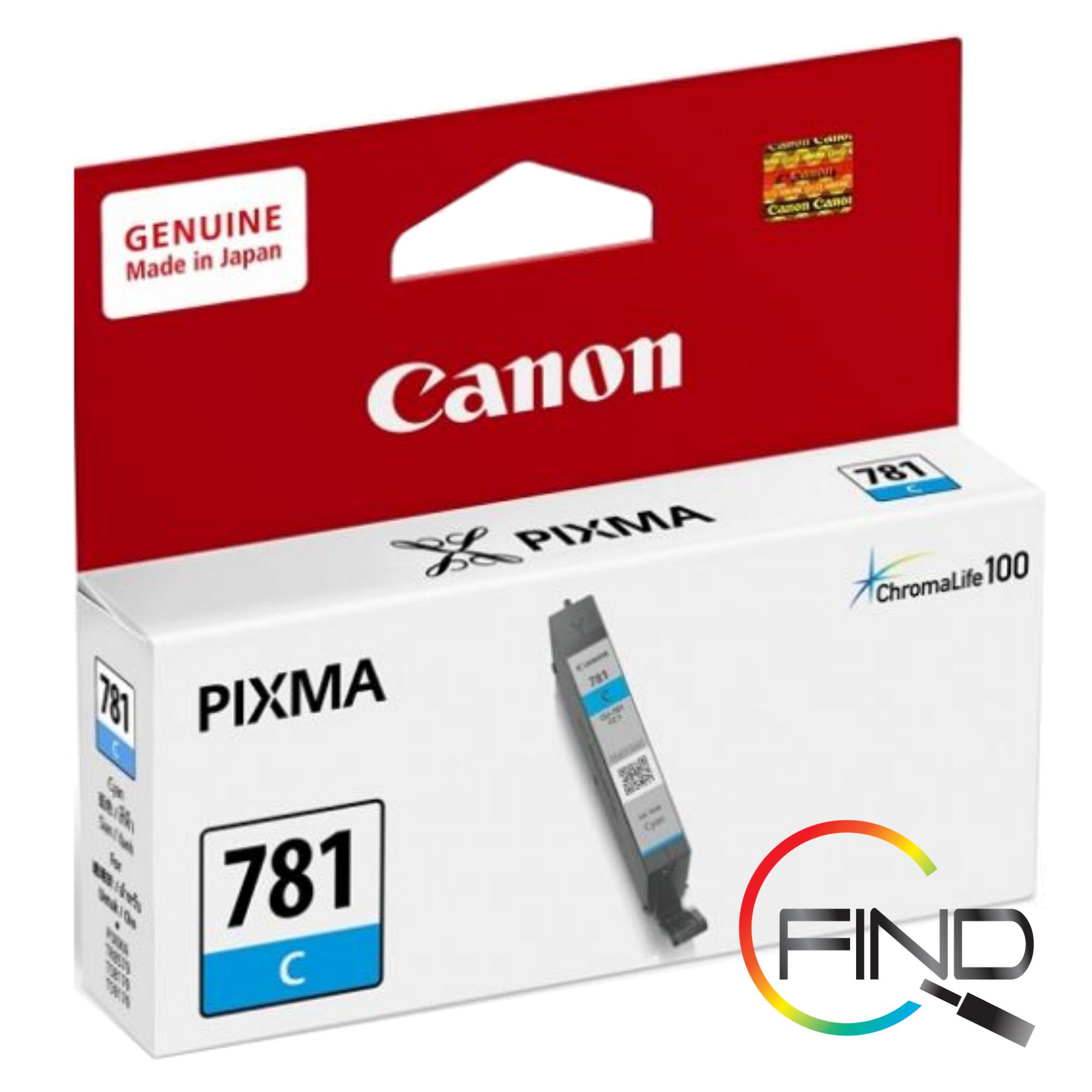 CANON CLI-781 CYAN CARTRIDGE (5.6ml) for TS707, TS8170/TS8270/TS8370/TS9170/TS9570, TR8570 Printer