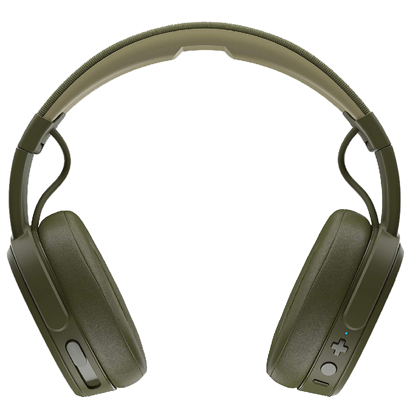 Skullcandy Crusher Wireless Immersive Bass Headphones, over-ear, fast charge, easy control, long battery life