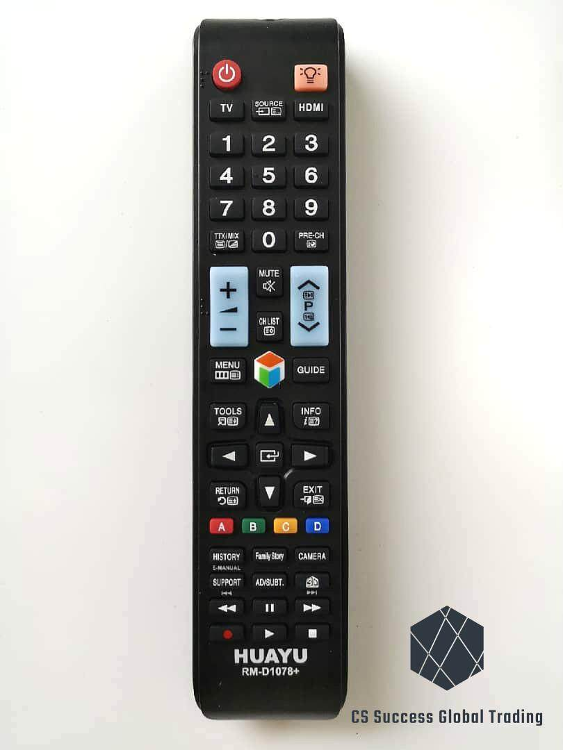 HUAYU SAMSUNG RM-D1078+ COMMON LCD/LED TV REMOTE CONTROLLER