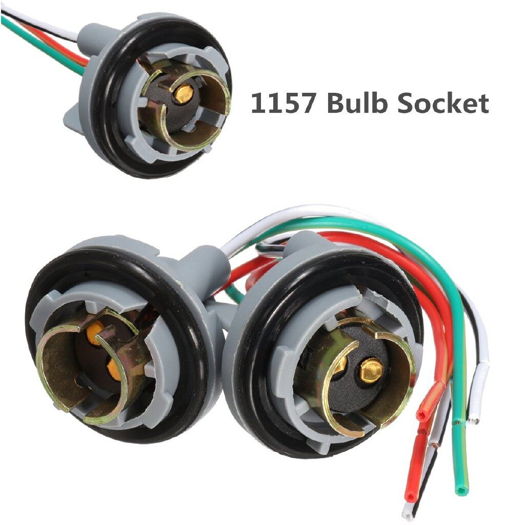Car Lights - 1157 Turn Light Brake Bulb Socket Connector For LED Bulbs - Replacement Parts
