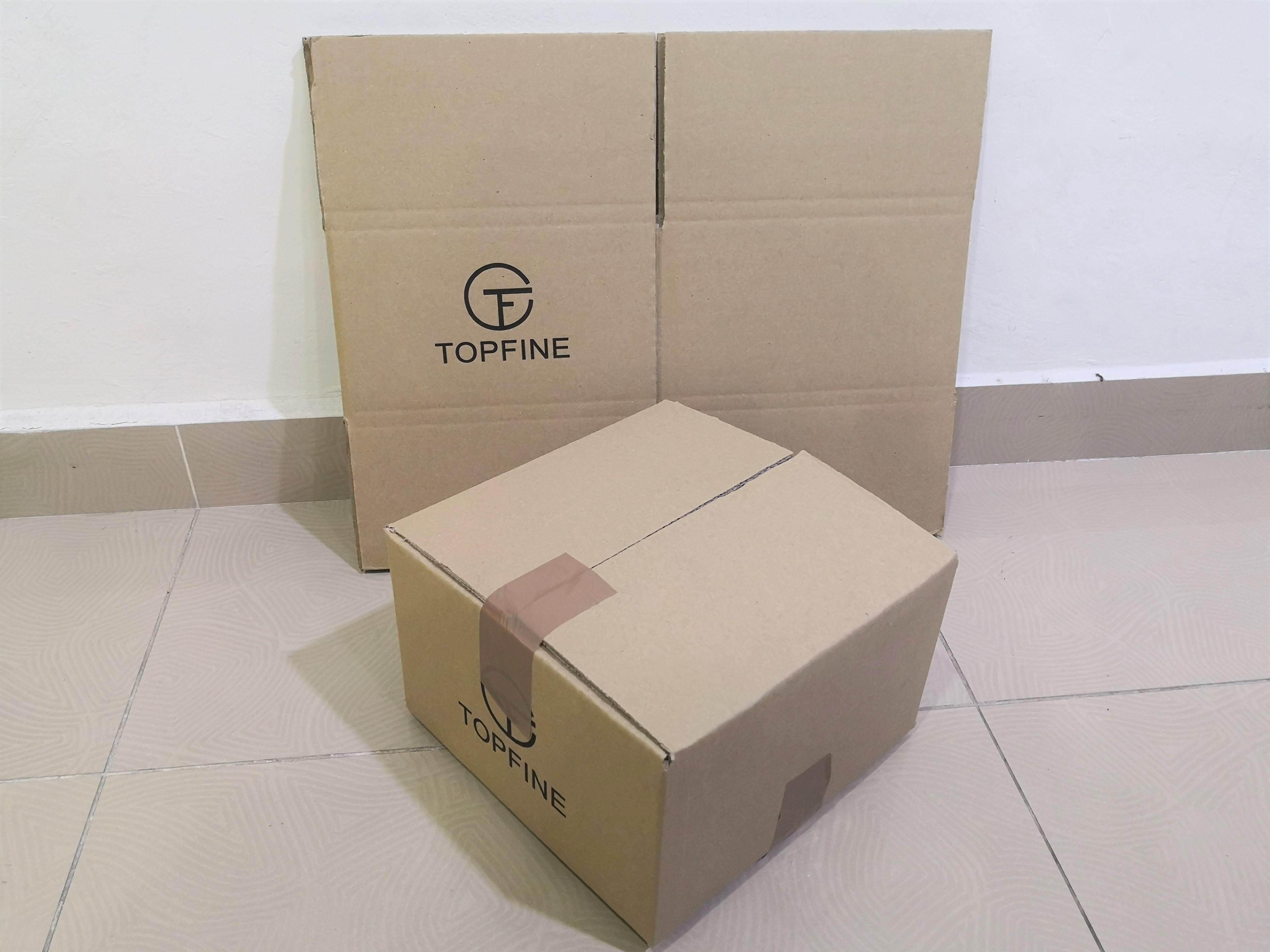 5pcs Printed Carton Boxes (L248 x W248 x H152mm)