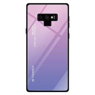 [Hot sale]Ốp lưng Samsung Galaxy Note 9 N960F Gradient Glass 6.4 Inch Mới Thời trang mới Khung mềm Ốp lưng bằng kính cường lực thumbnail
