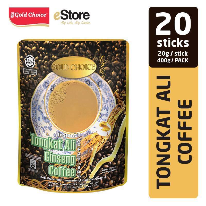 GOLD CHOICE Tongkat Ali Ginseng Coffee - (20g X 20'S)