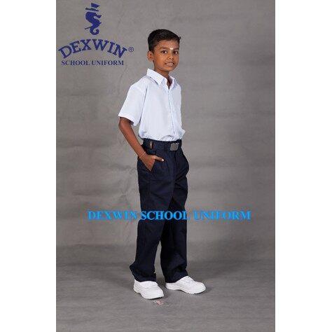 seluar biru panjang kepala sekolah menengah /selaur pandu puteri,pengakap