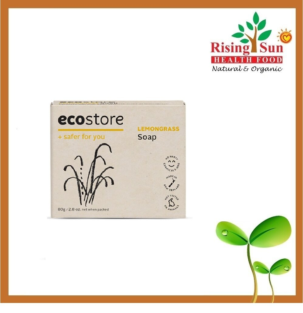 Radiant Ecostore Lemongrass Soap 80G