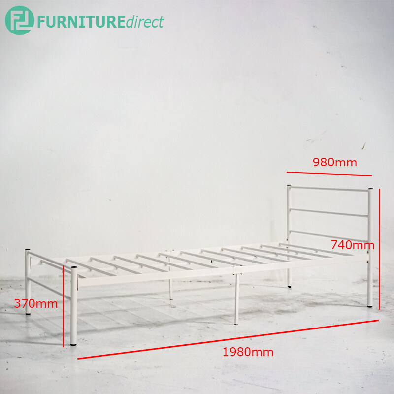 LILY single size metal bed frame DS3899