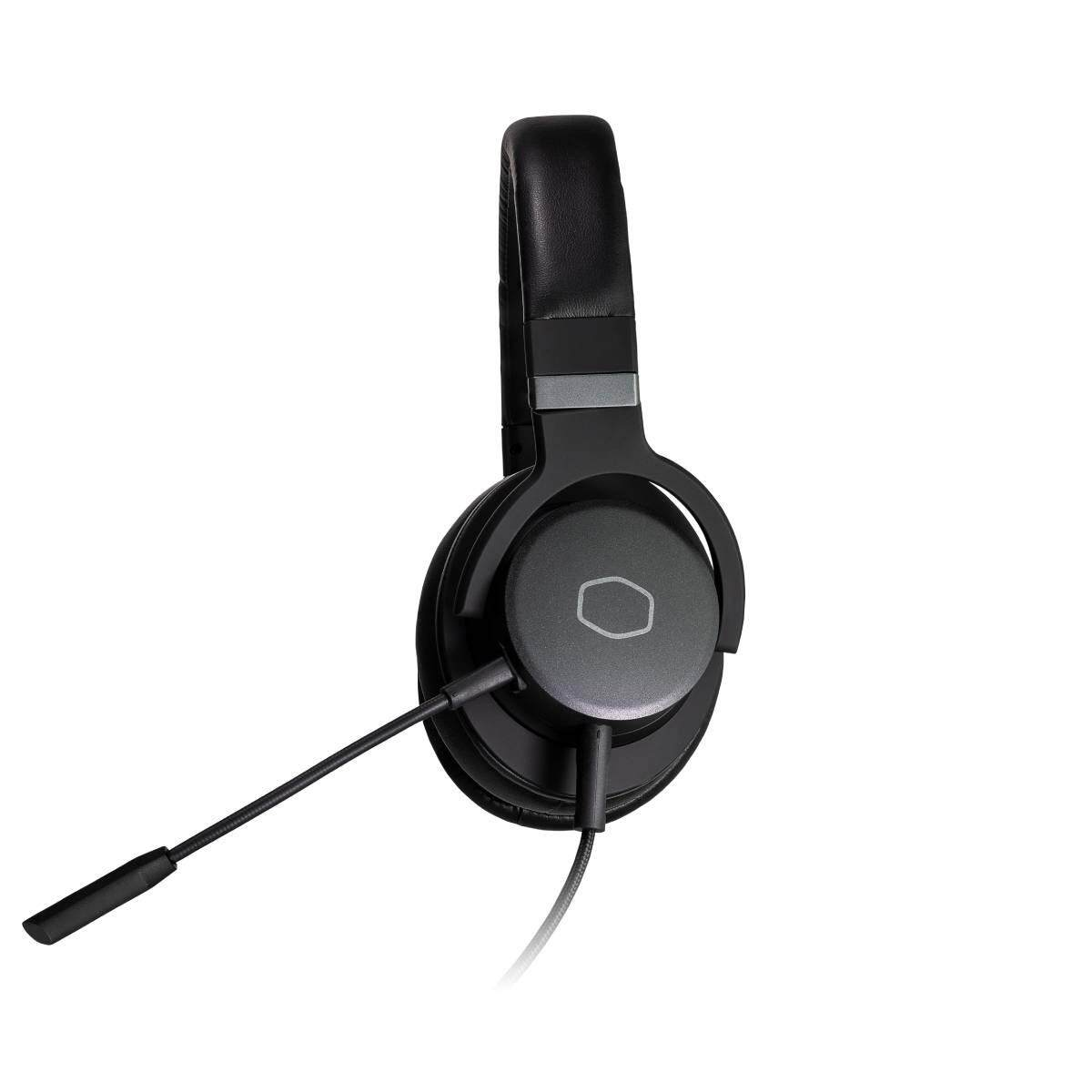 Cooler Master Headset MH751 with In-Line Control, 3.5mm Audio Jack, Detachable Boom Mic, 40mm Driver