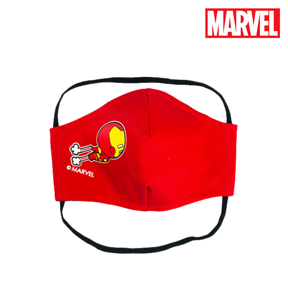 Marvel Avengers Kawaii Kid Washable & Reusable 3 Layer Cute Face Mask
