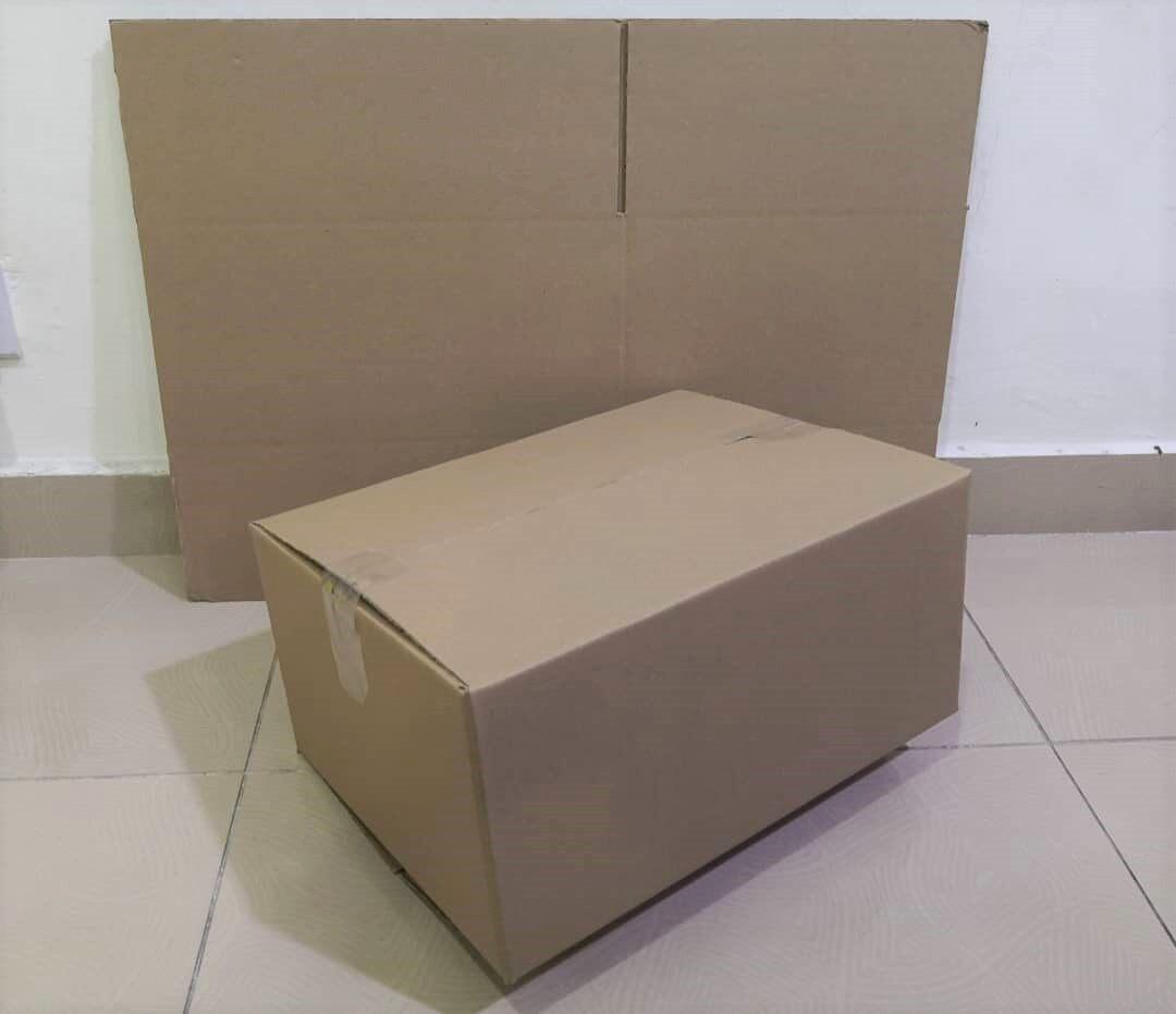 16pcs Plain Carton Boxes (L384 X W288 X H184mm)