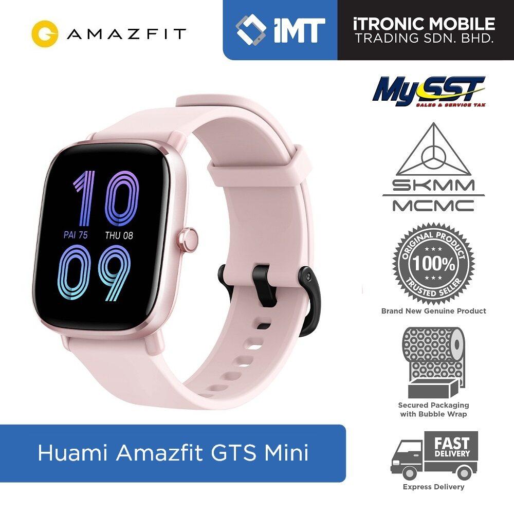 [MY] Huami Amazfit GTS 2 Mini Smartwatch - Original Malaysia Set