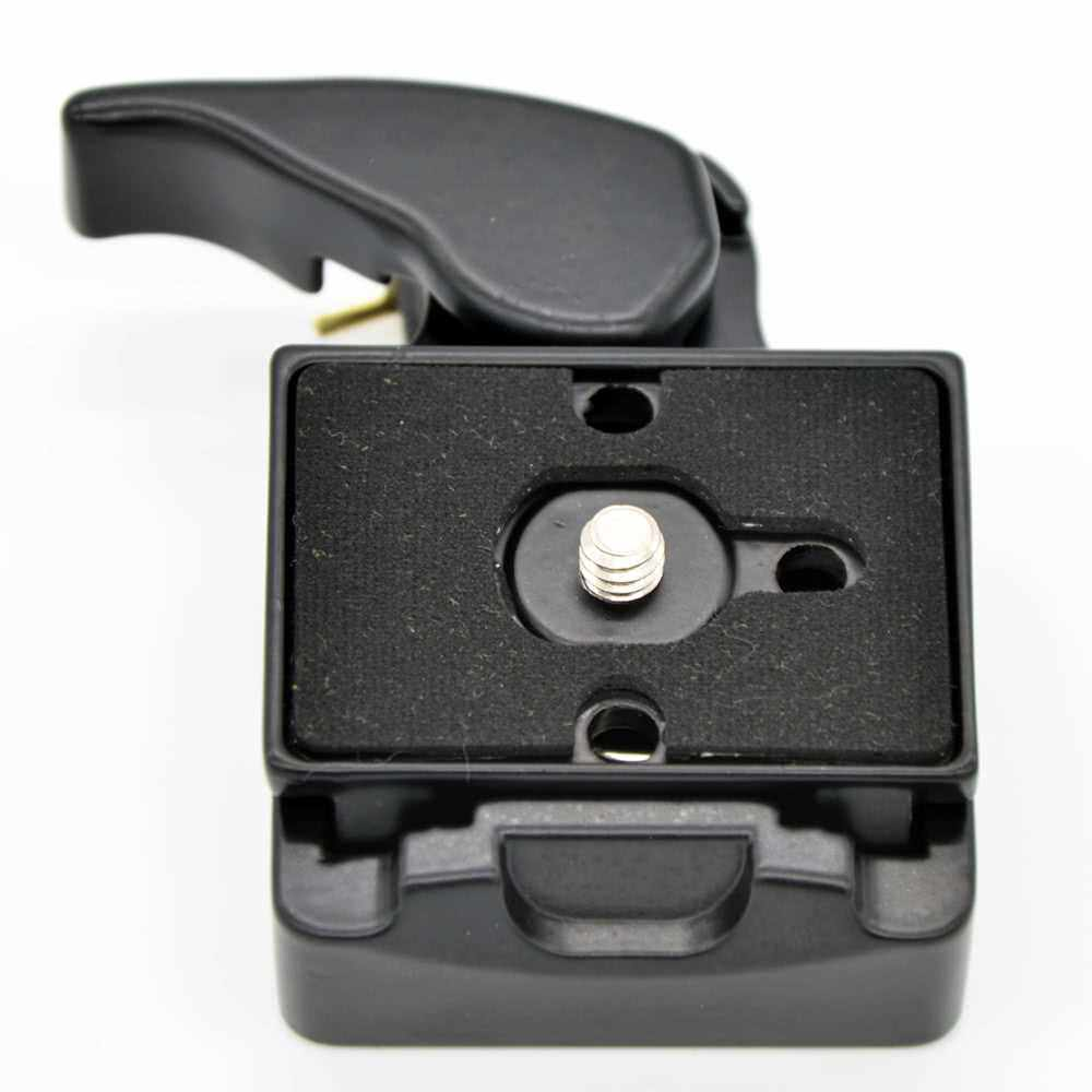 Best Selling Camera 323 Quick Release Clamp Adapter + Quick Release Plate Compatible for Manfrotto 200PL-14 Compat Plate (B)