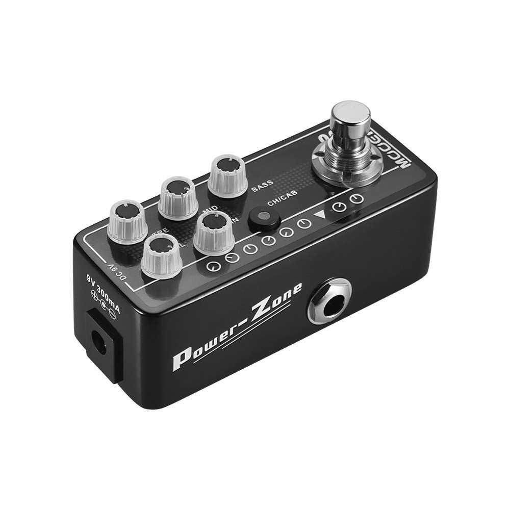 People's Choice MOOER MICRO PREAMP Series 003 Power-Zone American-style High Gain Digital Preamp Preamplifier Guitar Effect Pedal True Bypass