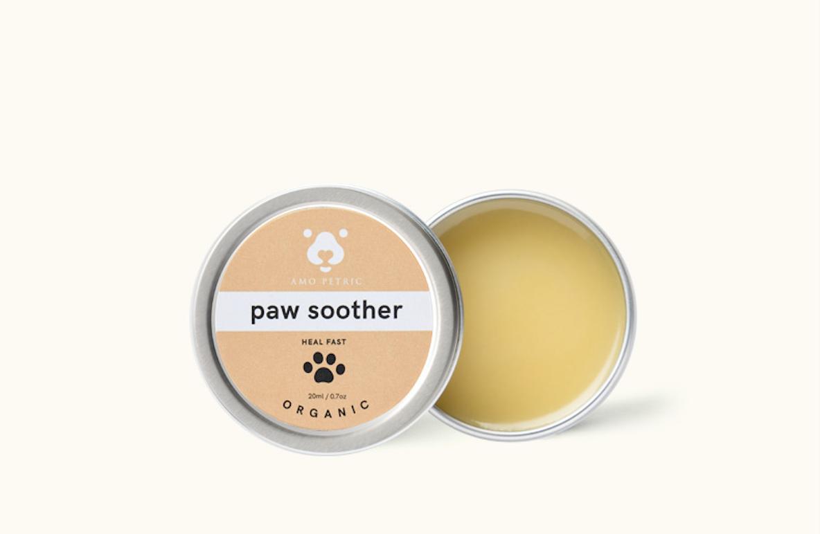 Amo Petric【阿默】Sea Buckthorn Paw Soother / Pet Cream Care / Dry Paws 沙棘果润脚膏 20ml