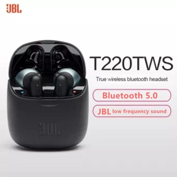 JBL Bluetooth Earphone Tune 220 TWS V5.0 In-ear Headphones Wireless Charging Singapore