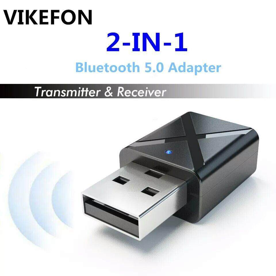 Mini 5.0 Bluetooth Transmitter Receiver 3.5mm AUX Stereo Wireless Bluetooth Adapter Transmitter [Local Shipping]