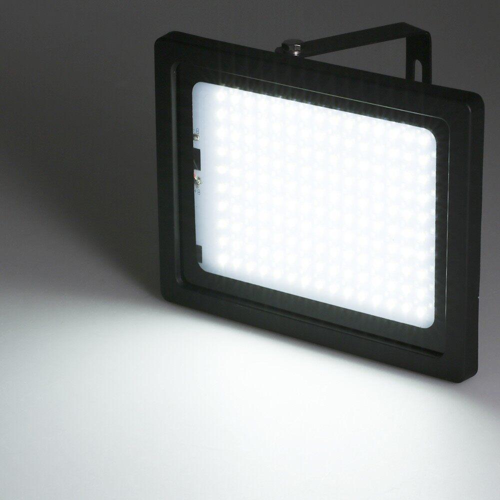 Lighting - 150 LED Solar Powered LED Flood Outdoor Light Lamp Manual/ Light Control/Ra - Home & Living