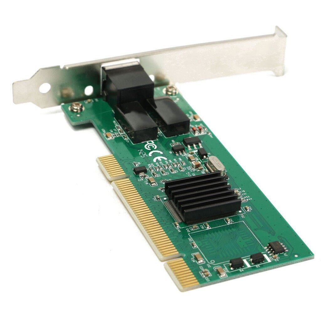 Cool Gadgets - Gigabit Ethernet LAN Low Profile PCI Network Controller Card Module 10/100/ - Mobile & Accessories
