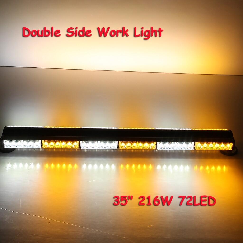 Car Lights - Car Emergency Traffic Advisor Double Side Flash Light Bar Beacon Warn Strobe - Replacement Parts