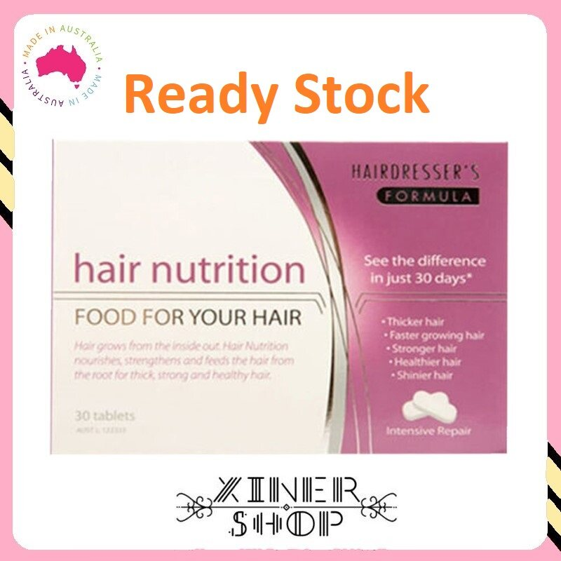 [Ready Stock] Hair Nutrition for Women ( 30 tablets )(Made in Australia)