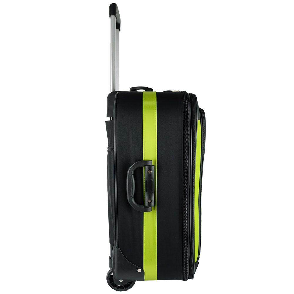Waterpolo BE9820 28inch 2W EVA Expendable Softcase Luggage- Black/Green