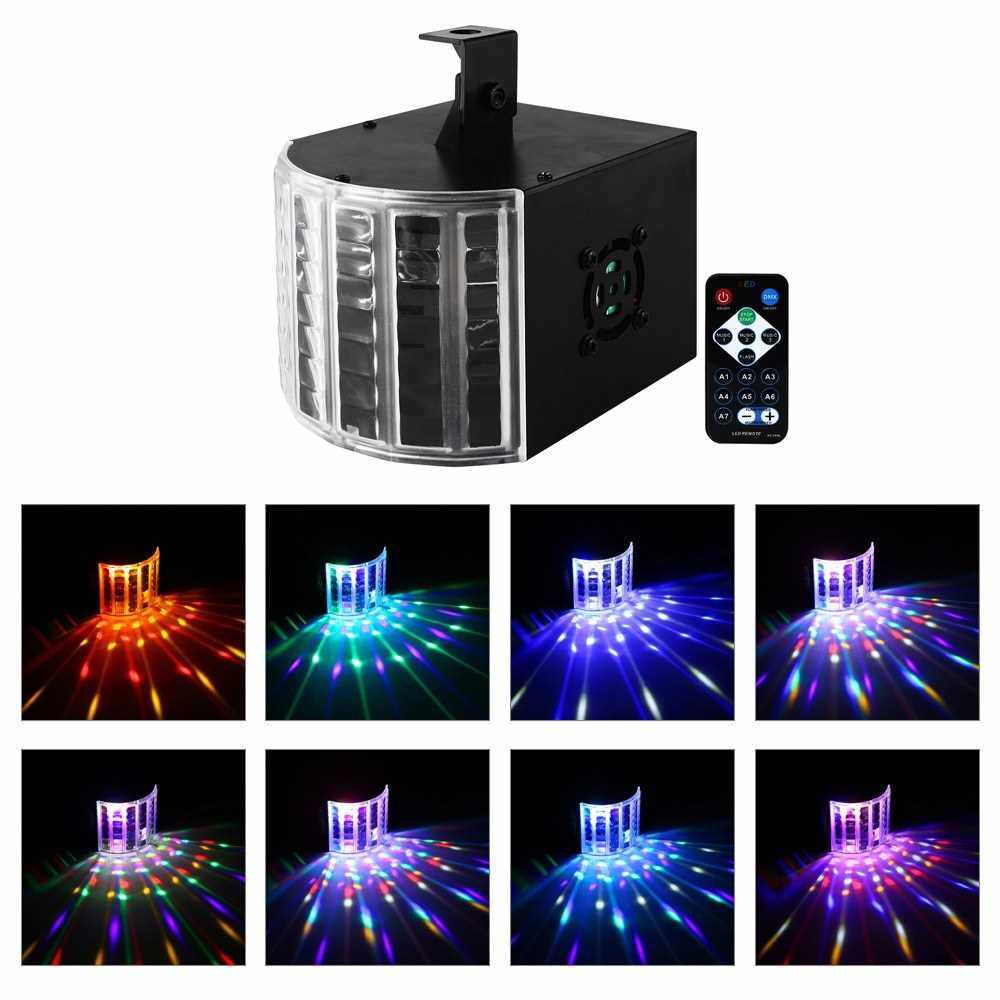 More Specifications Remote Mini Butterfly Light Ultra-Bright Beam Lamp EW-01R AC100-240V For Bar (Black)
