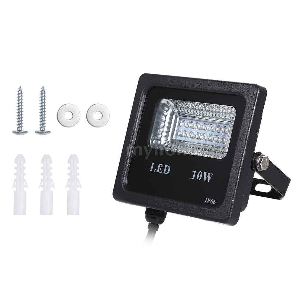 Lighting - AC90-265V 10W 22 LED UV Flood Light IP66 Water Resistance for Dance Party DJ Show Stage Lighting - Home & Living