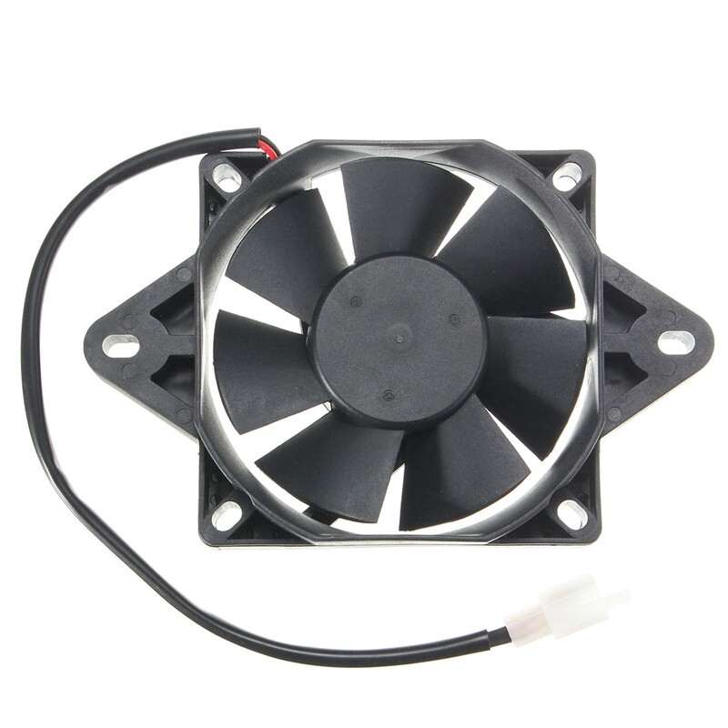 Moto Accessories - 12V Electric Engine Cooling Fan Radiator Motorcycle ATV Go Kart Quad 150-250cc - Motorcycles, Parts