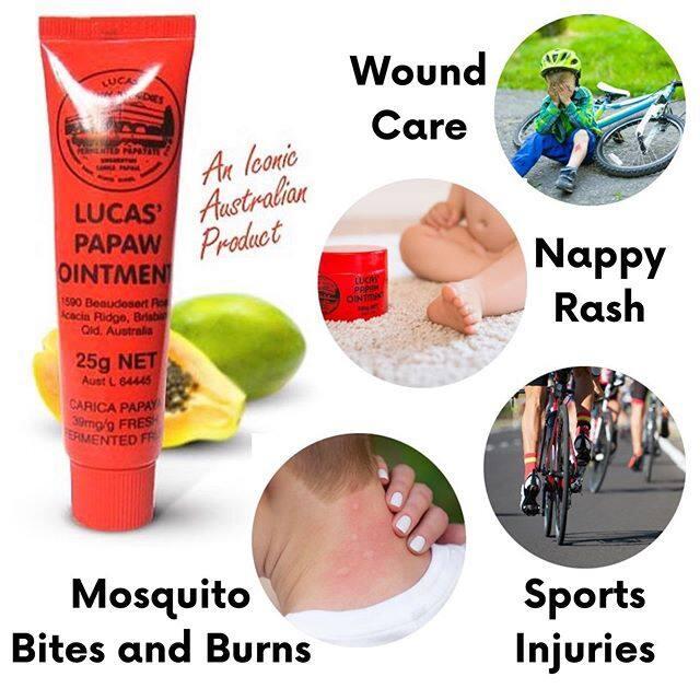 (READY STOCK) Lucas Papaw Ointment Multifunctional Hydrating Lip Balm / Diaper Rash Cream 25g (LOCAL SELLER)