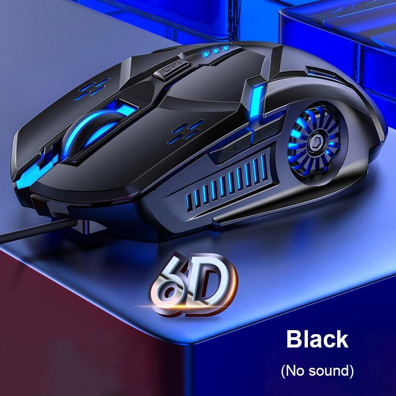 G5 Professional Ergonomic Gaming Mouse 7colors Backlight USB Wired Mouse For Gamer 6D 4-Speed 3200DPI Mice For PC/LAPTOP