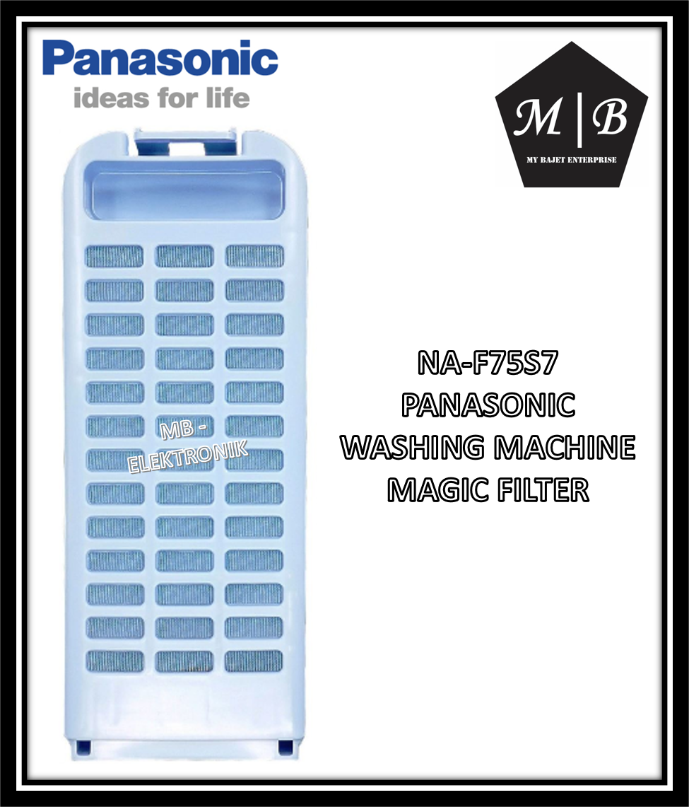{ORIGINAL} {1 PCS} PANASONIC WASHING MACHINE MAGIC FILTER NA-F75S7 NA-F70S7