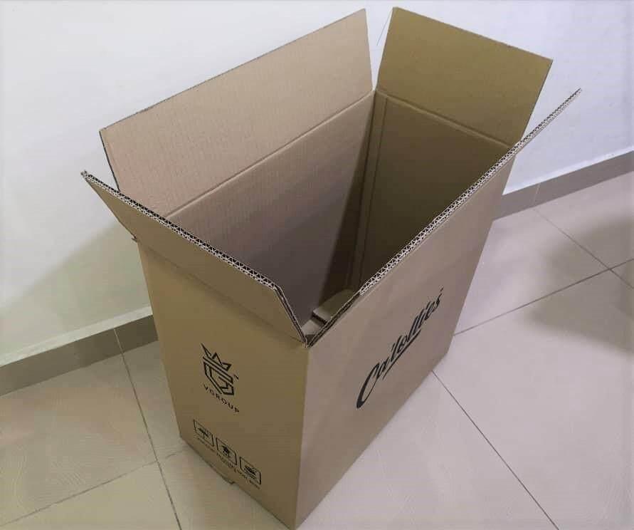 5pcs Printed Carton Boxes (L533 X W283 X H533mm)