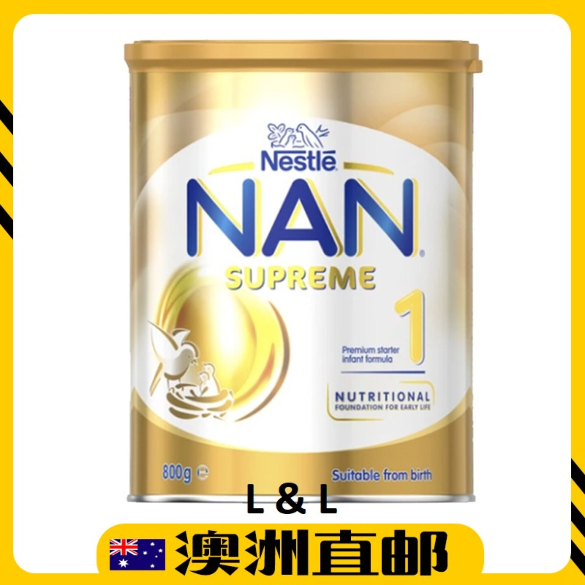 [Pre Order] Australia Import Nestle Nan Supreme Step 1 ( 0-6 Months ) 800g Twin Pack
