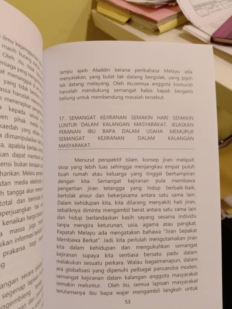 Best Selling Guarantee Lulus: Koleksi Karangan Cemerlang Topik Penulisan SPM Bahasa Melayu NEW 2020 (Ready Stock)