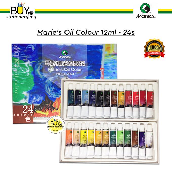 Marie's Oil Colour 12ml 24s - (SET)