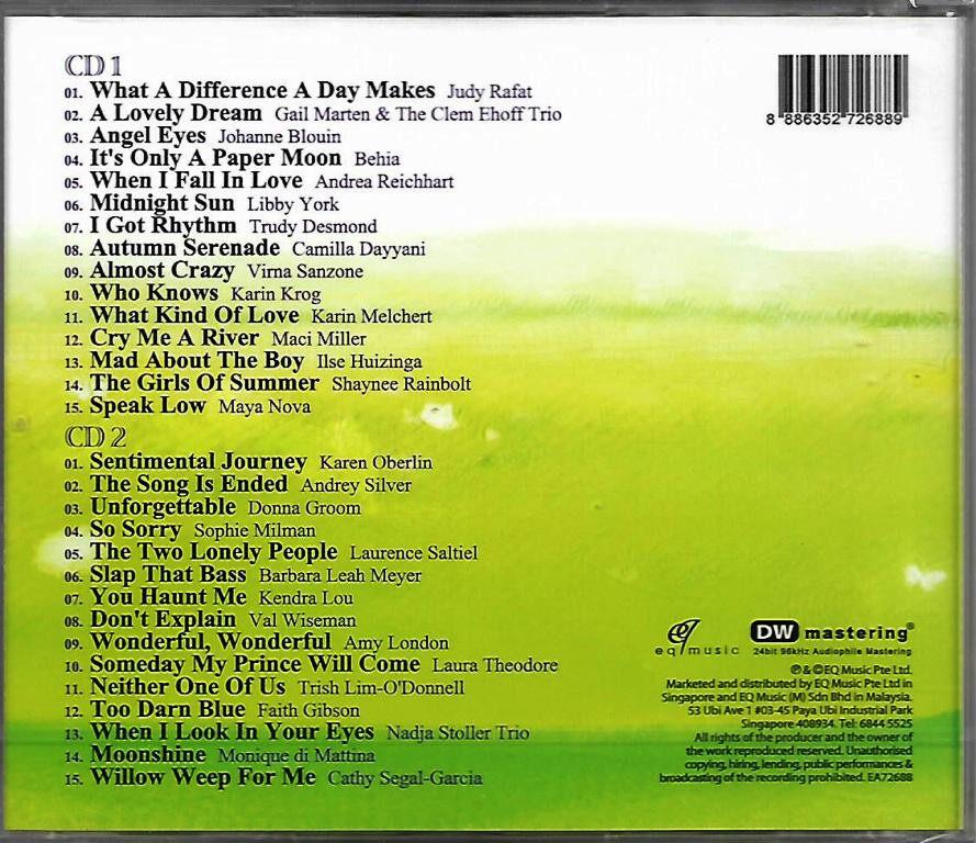 Jazz Stories - DW Mastering 24bit 96kHz Audiophile Mastering 2CD