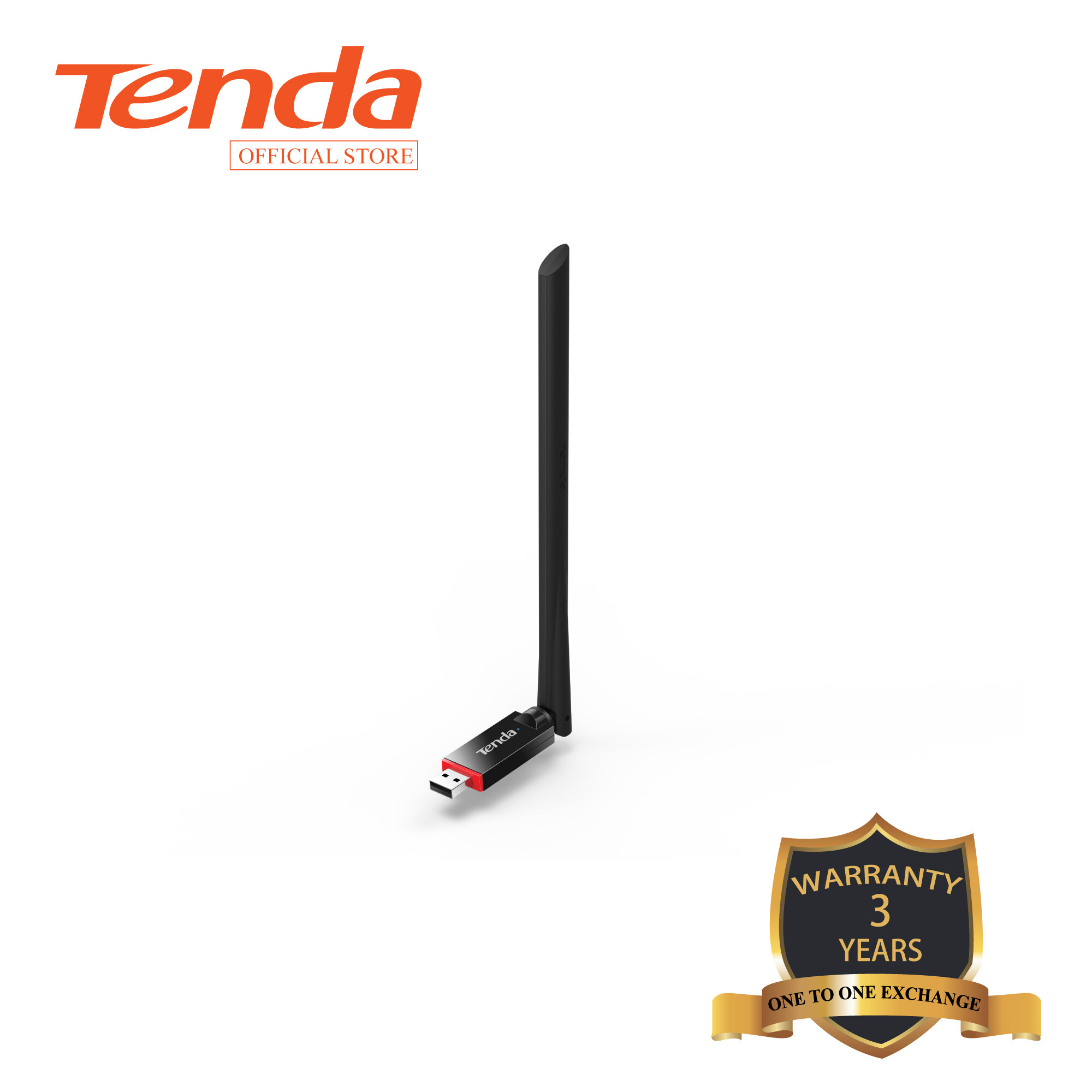 Tenda U6  N300Mbps Wireless Wifi USB Adapter