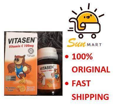 Vitasen Vitamin C 100mg (100 chewable tablets )