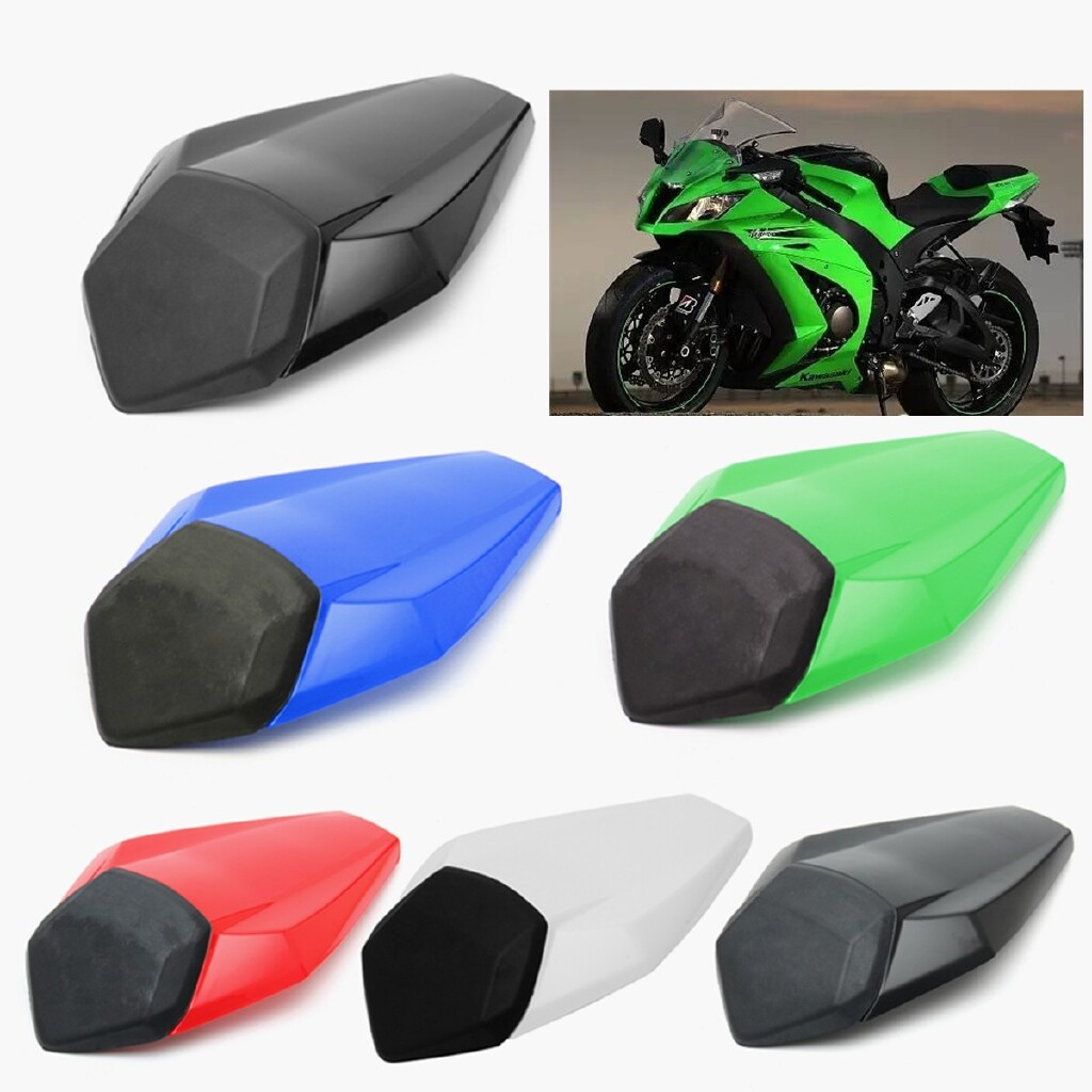 Moto Accessories - Rear Seat Cover Fairing Cowl Fit For 2016-2017 KAWASAKI Ninja ZX-10R ZX10R - WHITE / BLUE / RED / GREEN / SMOKE / BLACK