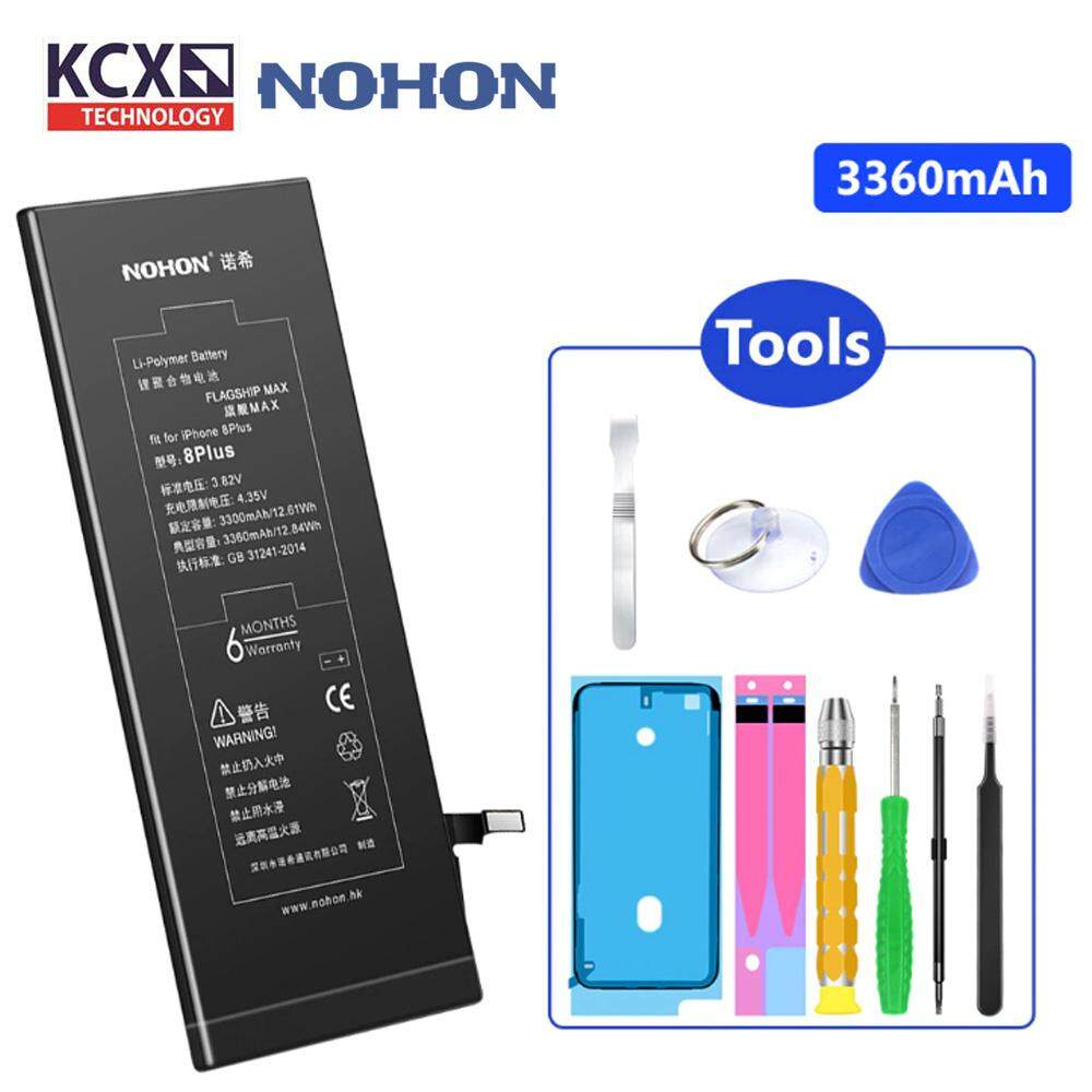NOHON iPhone 8 Plus (3060mAh) Battery with FREE Tool Kit