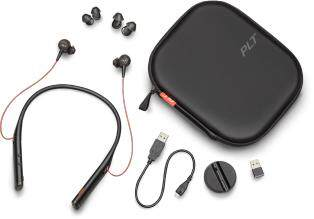 Plantronics Voyager 6200 UC, Bluetooth Neckband Headset with Earbuds (2 Years Warranty)