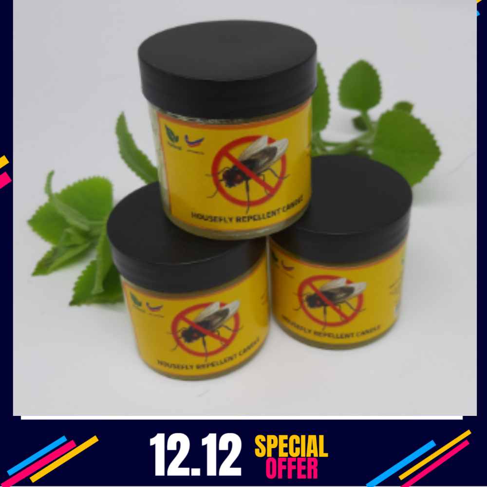Housefly Repellent candle X 6 50 G