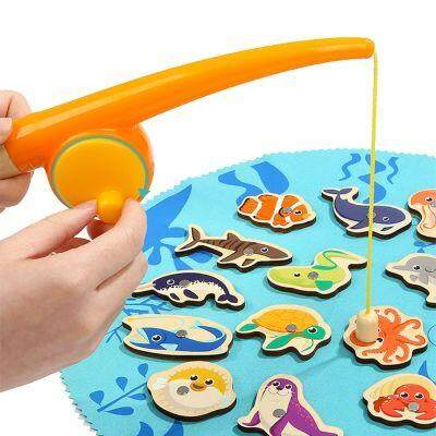 TOPBRIGHT MAGNETIC FISHING BABY TOY FOR INTELLIGENCE DEVELOPMENT (MULTI) baby toys