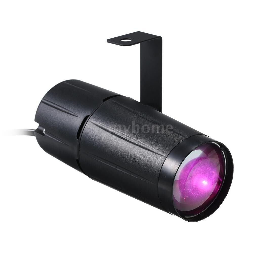Lighting - AC90-240V 10W LED MINI Beam Spot Stage Light Lighting Fixture for Party Home Decoration Bar Club - PINK-US / WARM WHITE-US / WHITE-US / YELLOW-US / BLUE-US / GREEN-US / RED-US / PINK-EU / WARM WHITE-EU / WHITE-EU / YELLOW-EU / BLUE-EU / GR