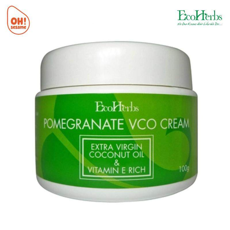 EcoHerbs Pomegranate VCO Cream 100g