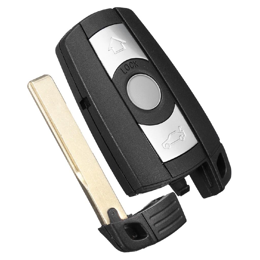 Car Accessories - Keyless Remote Key Fob w/ LIR2025 Battery For BMW 323 325 328 335i E90 E92 E93 - Automotive