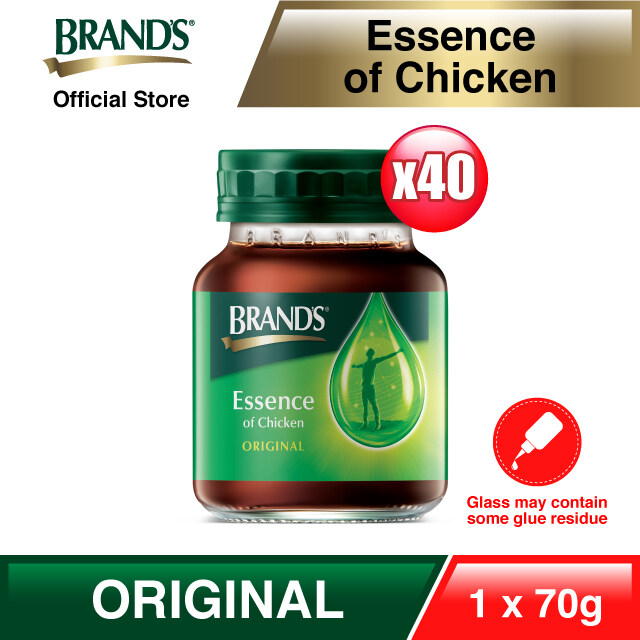 [Immunity Booster Super Pack] BRAND'S Essence of Chicken 40 Bottles x 70 gm (Clearance Stock*)
