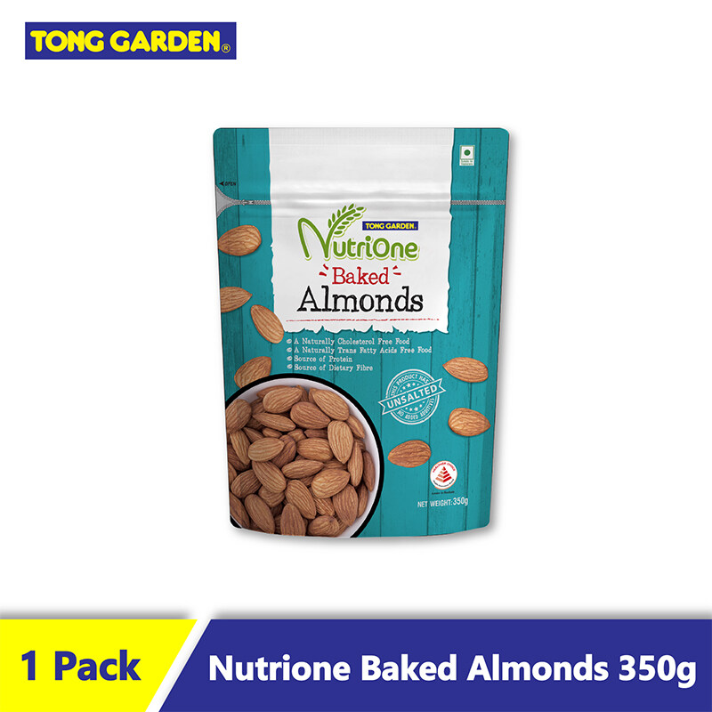 TG Nutrione Baked Almonds Unsalted 350g