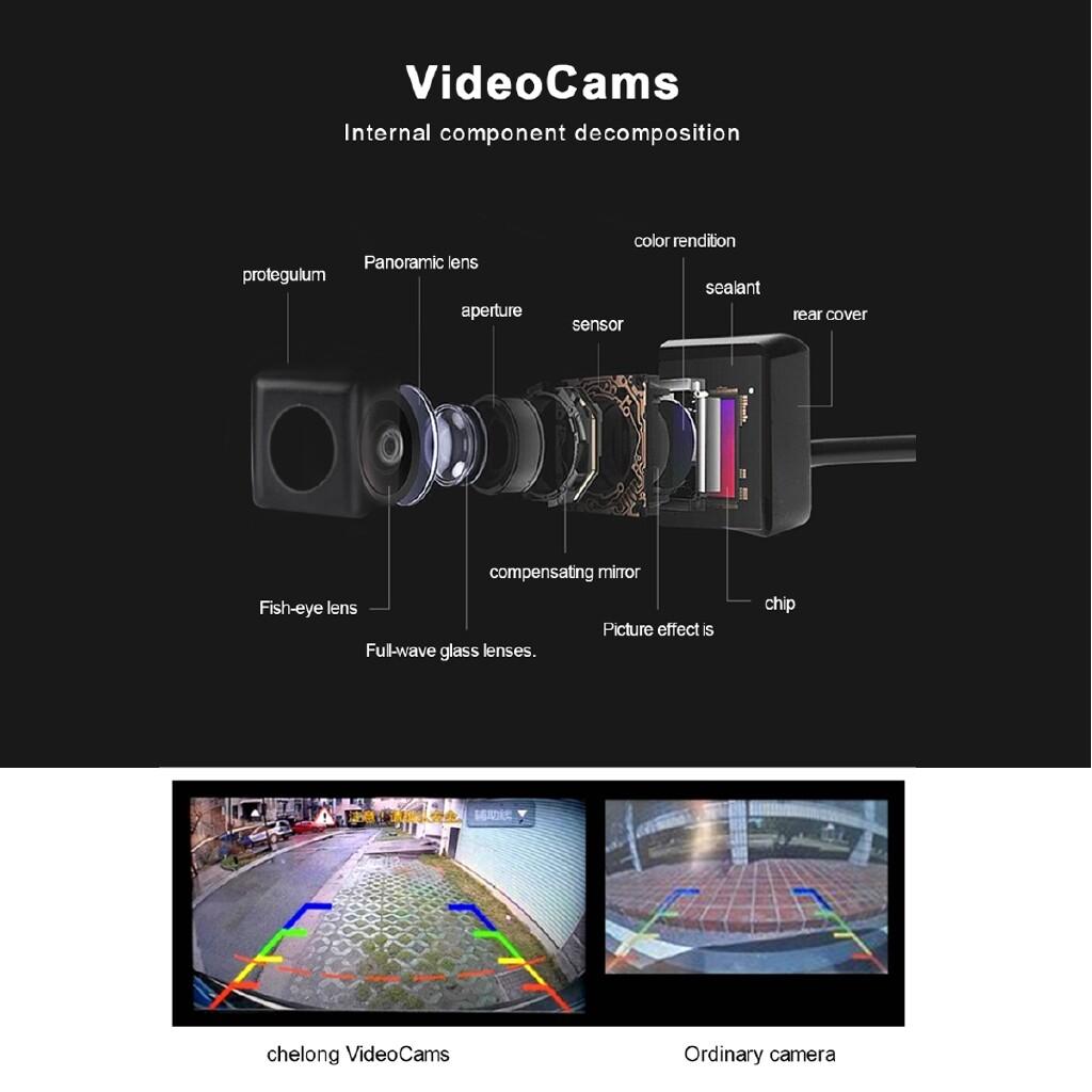 Vehicle GPS - 360 Bird View Panorama System 4 Cameras 1080P Car DVR Recording Rear - Car Electronics