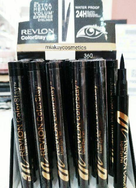 FREE GIFTRevl0n Color Stay Black Eyeliner Pen