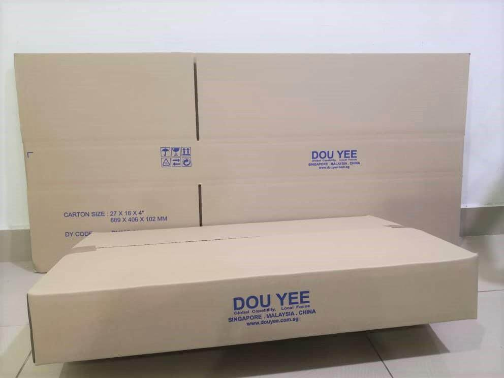 5pcs Printed Carton Boxes (L689 x W406 x H102mm)